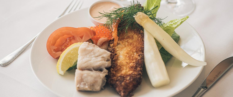 Frokost på Brobyværk Kro